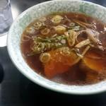 銀水 - 料理写真:正油ラーメン(税込660円)