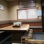 長岡屋総本店 - 店内風景