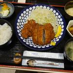 Ginzaougiya - ひれかつ定食