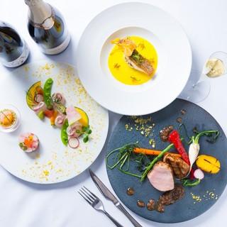 『日本の旬の素材を楽しむ上質な料理』