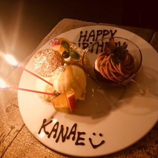誕生日、記念日お祝いしませんか?