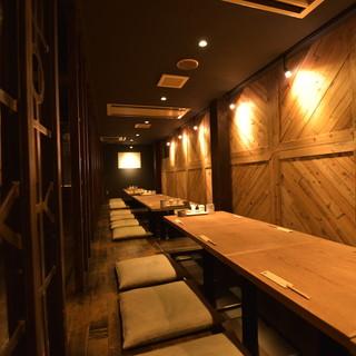 2階テーブル席は最大40人まで座れます!