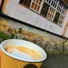 ブックカフェ クジュウ - ドリンク写真:カフェオレ
