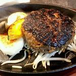 炭火×鉄板焼 URAROJI - 黒毛和牛ハンバーグ