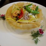 中国料理 かなめ - ツブ貝と海鮮の炒め物