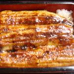 ゆうすげ - 料理写真:身厚でふっくら皆様に支持され続けて33年 静岡浜名湖産  うな重松   竹 うな丼