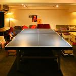 中目卓球ラウンジ - 卓球台付きのVIPルーム(個室)もあります!