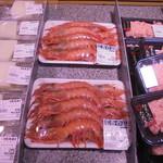 魚耕 - 特売の赤エビ