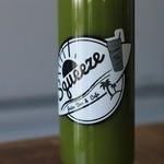 スクイーズ - ドリンク写真:コールドプレスジュース グリーン