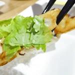 koubegyouzaraku - パクチー餃子