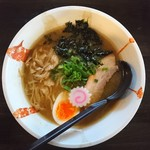 らぁ麺てる坊 - 料理写真:2017年11月 濃厚煮干しらぁめん 880円
