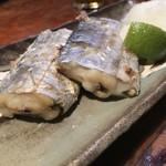 たぬき - 太刀魚塩やき