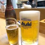 きないや - 生ビール&瓶ビール