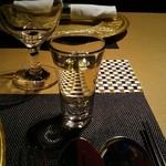 星期菜 - ウェルカムティー(水出しジャスミン茶)