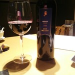 星期菜 - 赤ワインをボトルで
