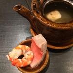 Ginzayoshizawa - 金目鯛の土瓶蒸し