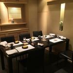 銀座 よし澤 - 個室は二部屋