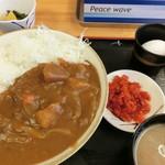 激安食堂 小林屋 - 「カツカレーライス」630円