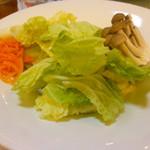 76387918 - 夕食:しゃぶしゃぶ用野菜