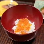京天神 野口 - いくら御飯