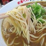 ふく利 - 中華そば 麺のアップ