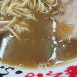 ふく利 - スープのアップ