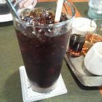 珈琲苑 - アイスコーヒーはやはり味わい深い