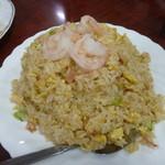 台湾料理 嘉宴楼 - エビ炒飯