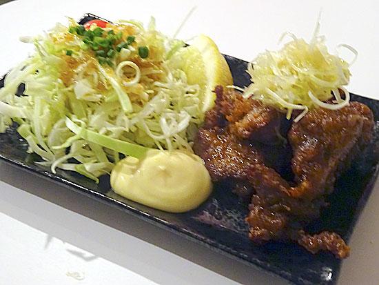 羊肉酒場 - ジンギスカンの唐揚げ550円
