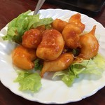 台湾料理 嘉宴楼 - エビチリ