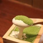 マッチャ ハウス 抹茶館 - 抹茶ティラミス