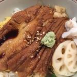 量平寿司 - ランチ 穴子丼 1,080円
