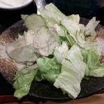 長岡屋総本店 - サラダ