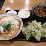長岡屋総本店 - カツ丼セット(¥1000税込)