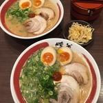 ラーメン暖暮 - 半熟煮玉子ラーメン(730円)