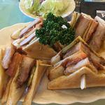 東京カントリー倶楽部レストラン - 料理写真:カツサンド