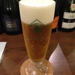 ワインカフェ - 生ビールはハートランドです。