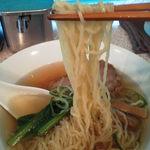 インディアン 蒲田西口店 - 超極細麺はあっさりスープと相性がいい