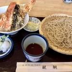 76399260 - 醍醐セット ミニ天丼 1,200円
