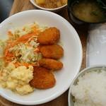 カフェガーデンさら - ホキフライ定食