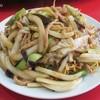 清香楼 - 料理写真:肉の細切りうま煮焼きそば750円