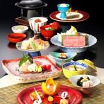 木曽路 - 季節会席7000円