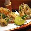 福半 - 料理写真:富山白海老かき揚げ