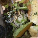 有機野菜食堂 わらしべ - サラダ✨美味しい