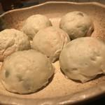 76404007 - 茶豆の包み蒸し