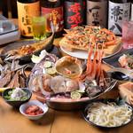 活さば問屋 - カニ味噌漁師鍋コース