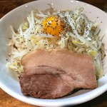 麺処 マゼル - まぜそば(醤油・並200g・豚1枚)
