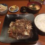 まるいち - 料理写真:日替わり 和牛焼肉650円