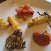 トラットリア クアクア - 料理写真:プランツォ:本日の前菜盛合せ