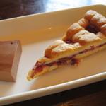 トラットリア クアクア - プランツォ:ユキちゃんのドルチェ2種盛り